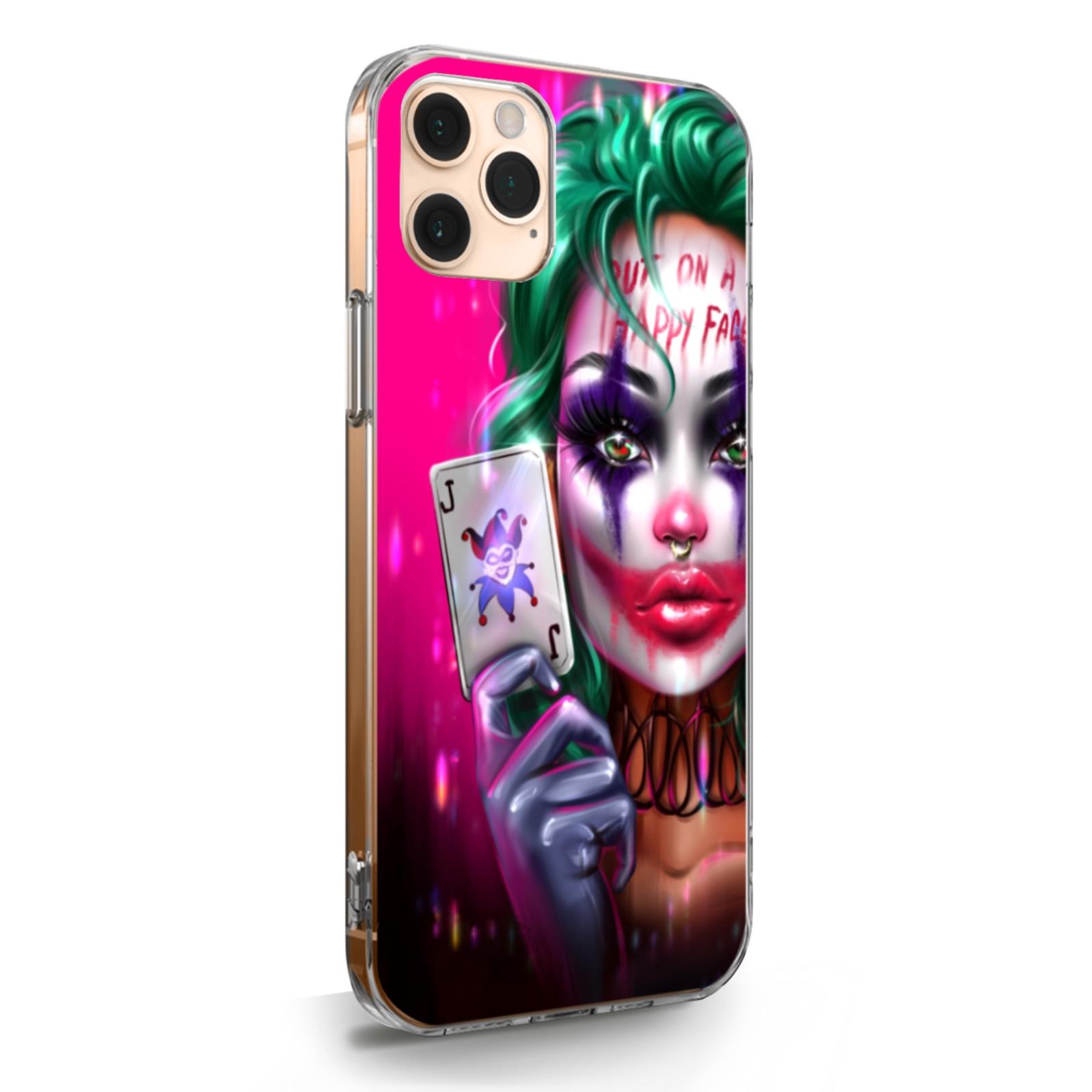 Прозрачный силиконовый чехол для iPhone 11 Pro Max Joker Girl/ Харли Квин для Айфон 11 Про Макс