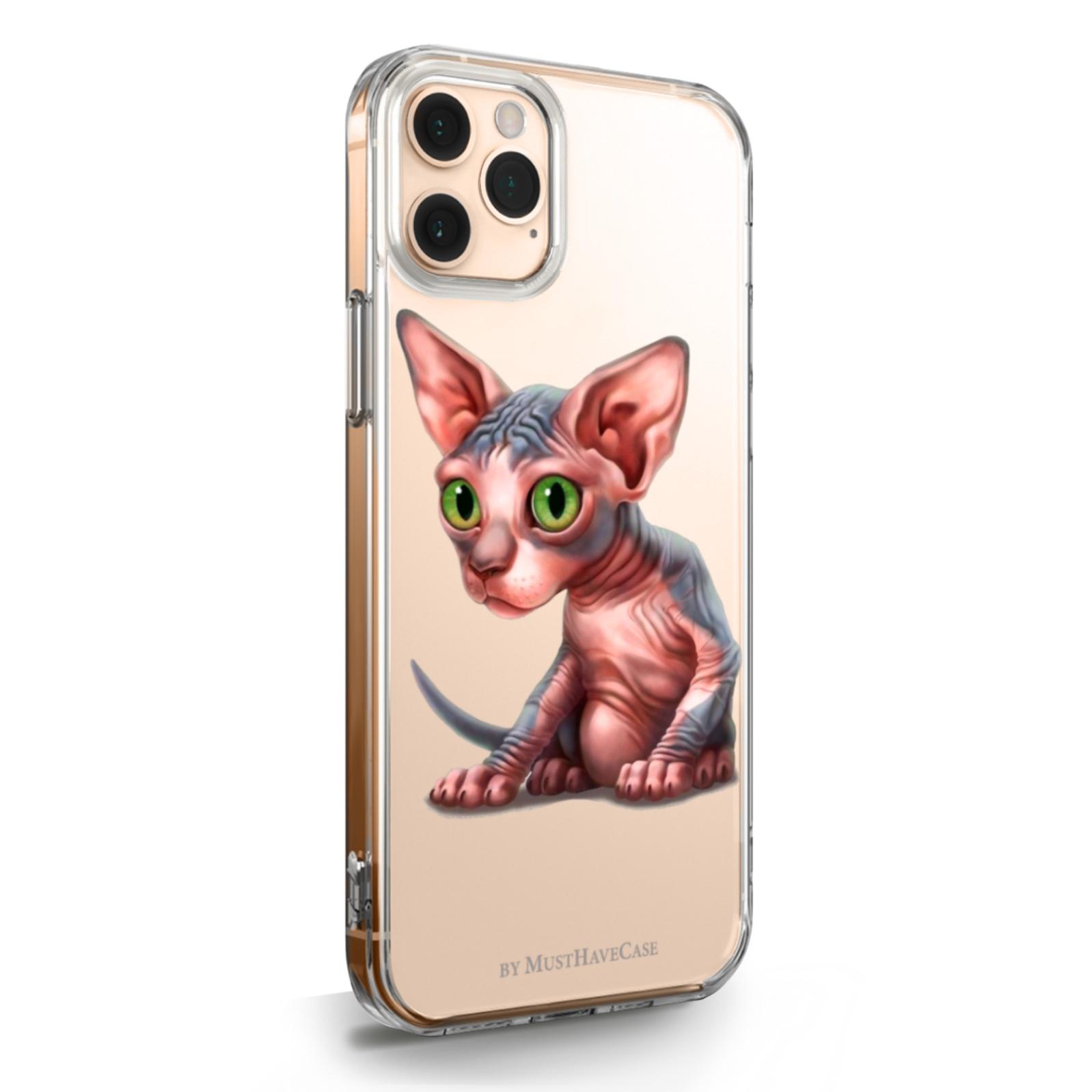 Прозрачный силиконовый чехол для iPhone 11 Pro Max Sphinx/ Сфинкс для Айфон 11 Про Макс