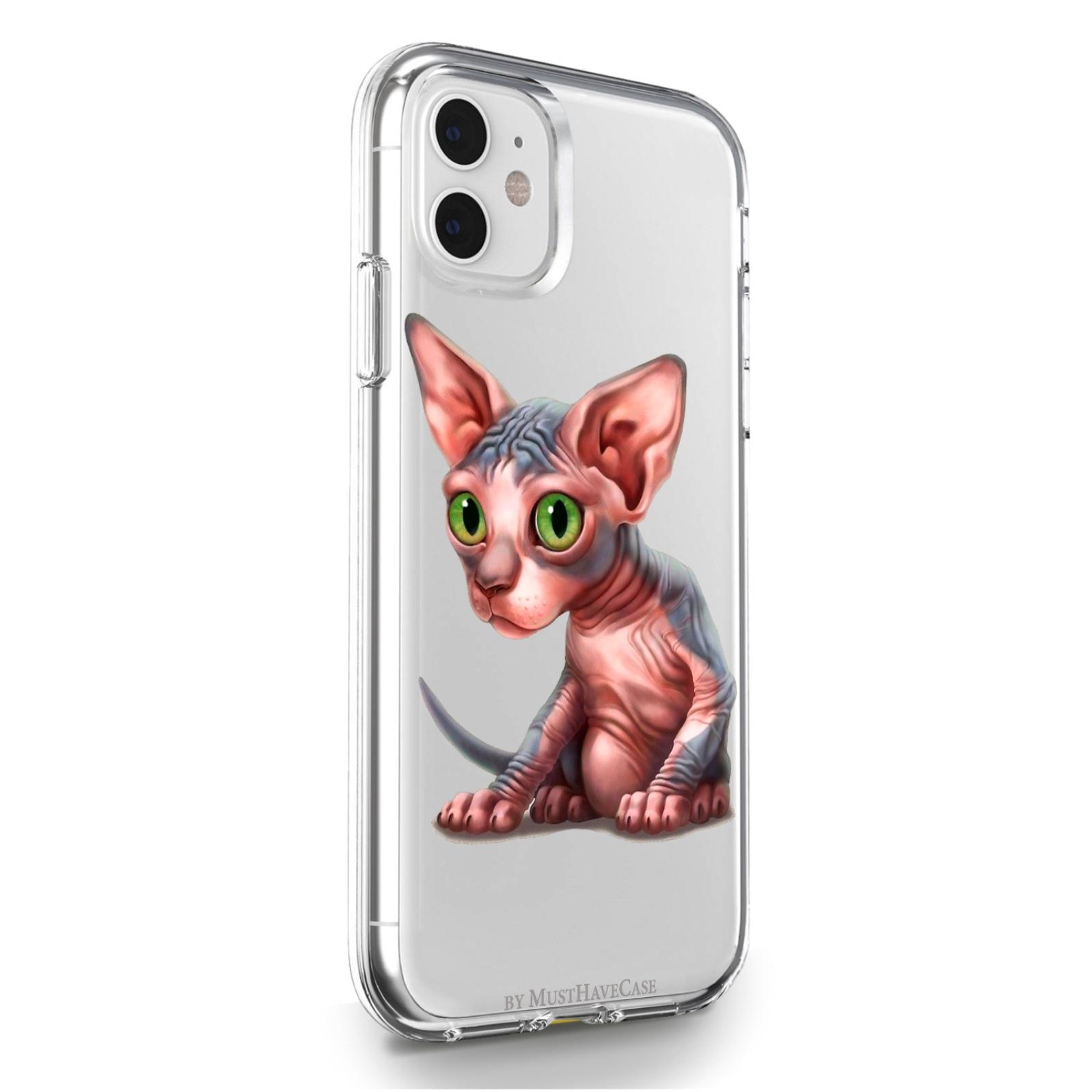 Прозрачный силиконовый чехол для iPhone 11 Sphinx/ Сфинкс для Айфон 11