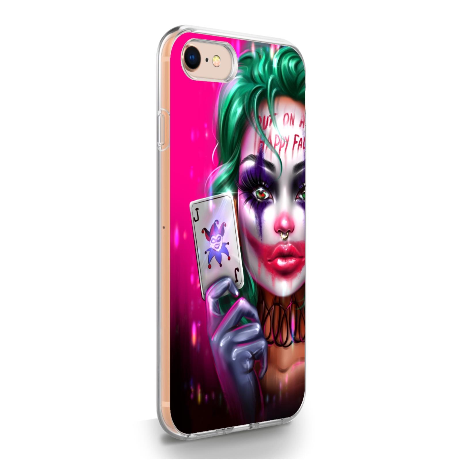 Прозрачный силиконовый чехол для iPhone 7/8/SE2020 JokerGirl/ Харли Квин для Айфон 7/8/СЕ2020