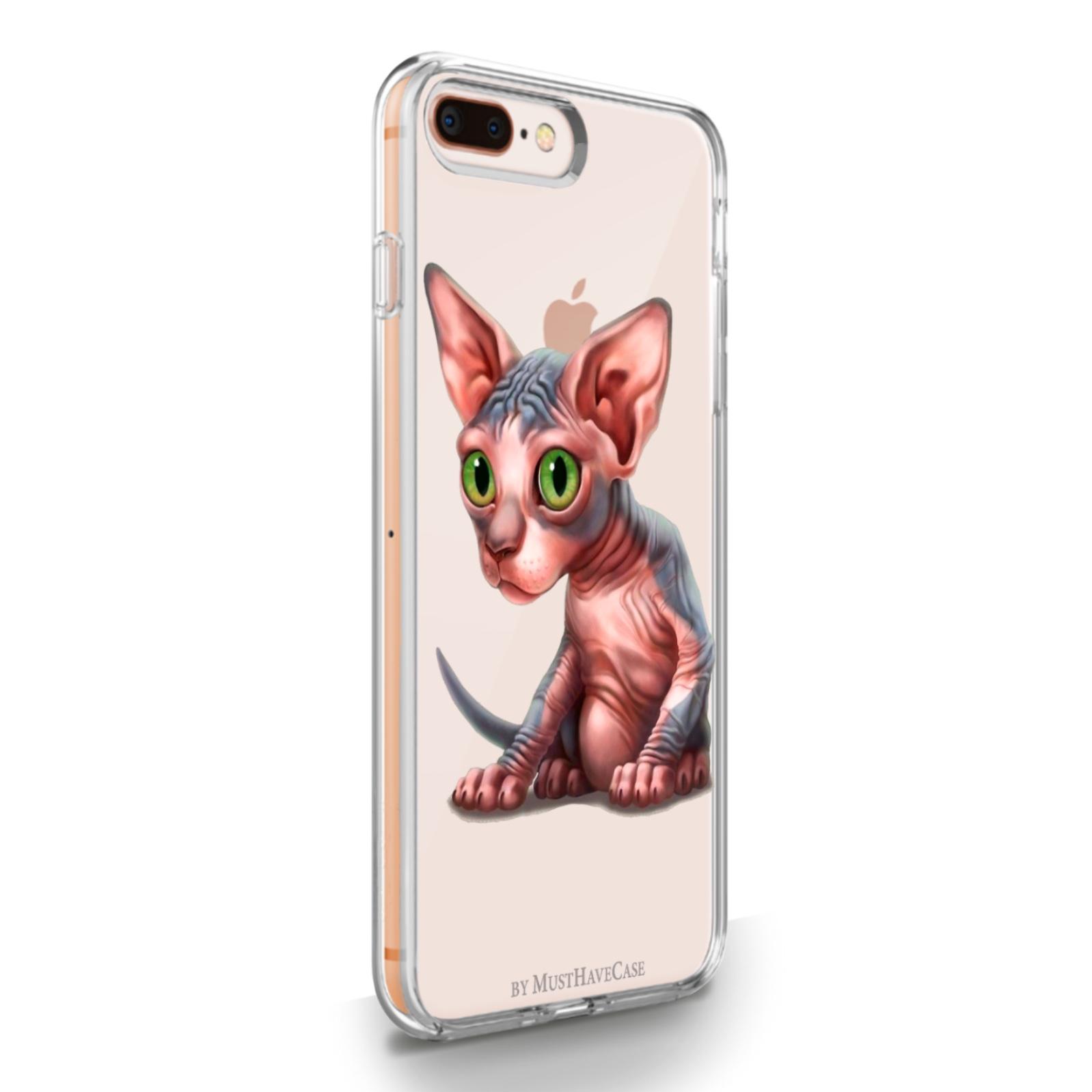 Прозрачный силиконовый чехол для iPhone 7/8 Plus Sphinx 7/8 Плюс Сфинкс